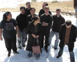 Altered Fluid members at 2010 writing retreat.
