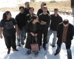 Altered Fluid members at 2010 writing retreat.