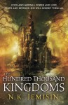 The Hundred Thousand Kingdoms, cover