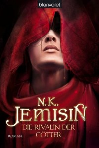 Cover art for book 3, German. Shows Asian man in hood, title