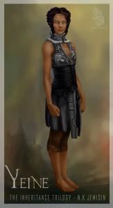 Yeine as drawn by Nubia Palacios