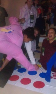 There was Twister involved.