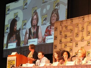 photo of a SDCC panel