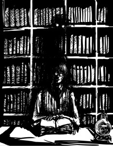 """""""Ghost Love Tales"""", by Rhiannon Rasmussen-Silverstein, posted with artist's permission"""
