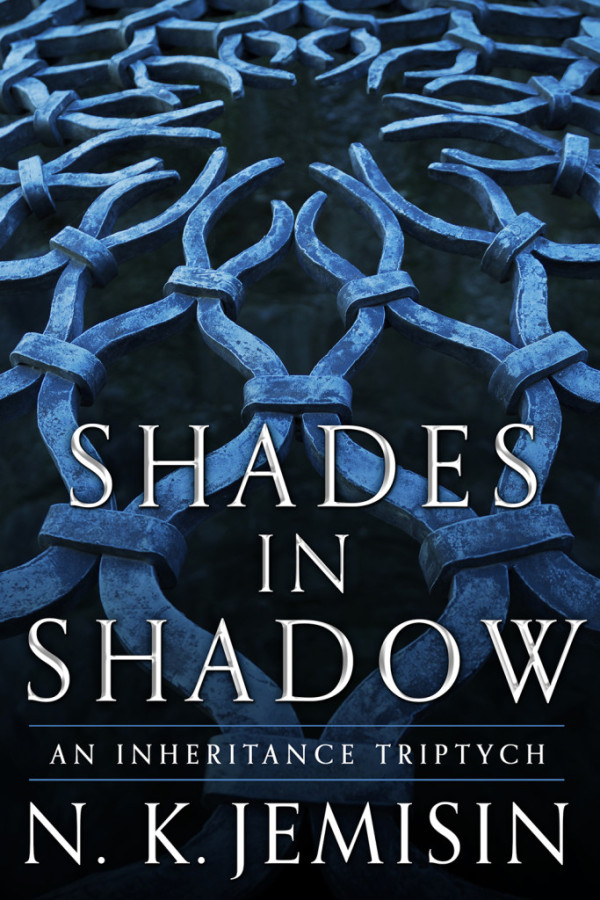 cover depicting a blue-tinted metal grate on black, with the title and author name superimposed