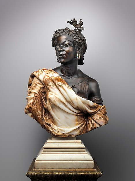 Capresse des colonies, Charles-Henri-Joseph Cordier, 1861.  Now imagine her turning to look at you and saying hi.